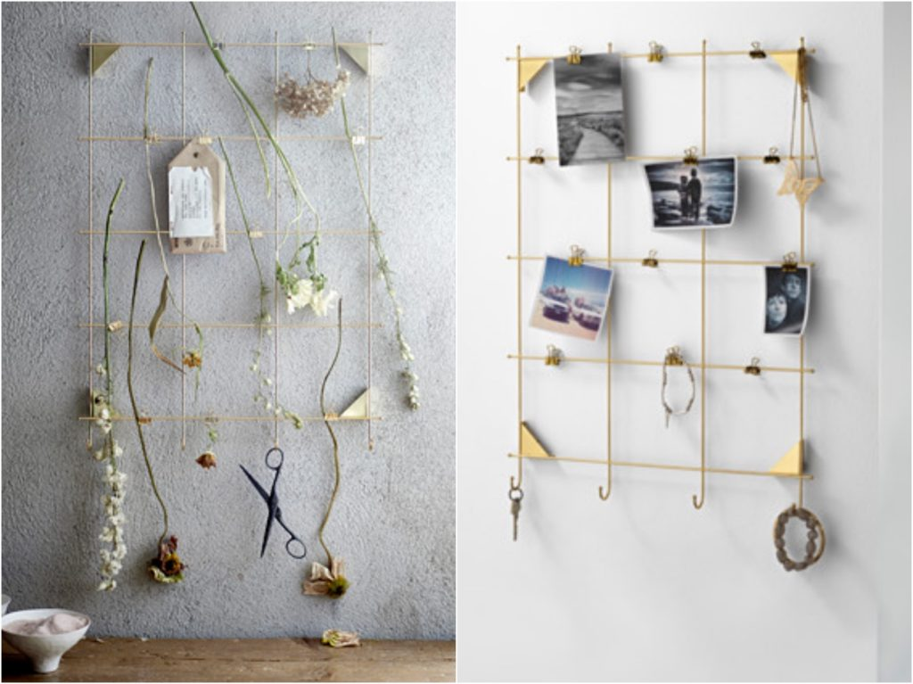 MYRHEDEN-tableau-affichage-selection-wishlist-ikea-or-laiton-dore-a-petit-prix
