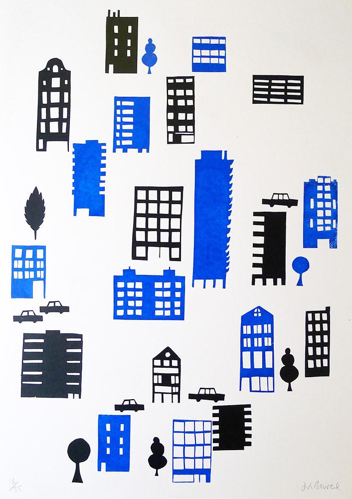 City-Jenny-Bowers-printclublondon-decoration-murale-toutes-nos-idees-pour-decorer