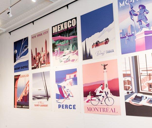 Pascal-Blanchet-mur-de-cadre-affichiste_affiches-authentiques-et-originales