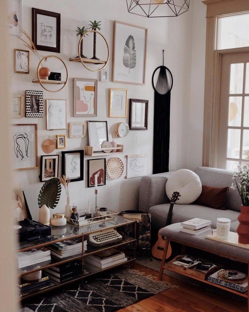 Les Plus Beaux Gallery Walls Des Blogueuses Idées Déco