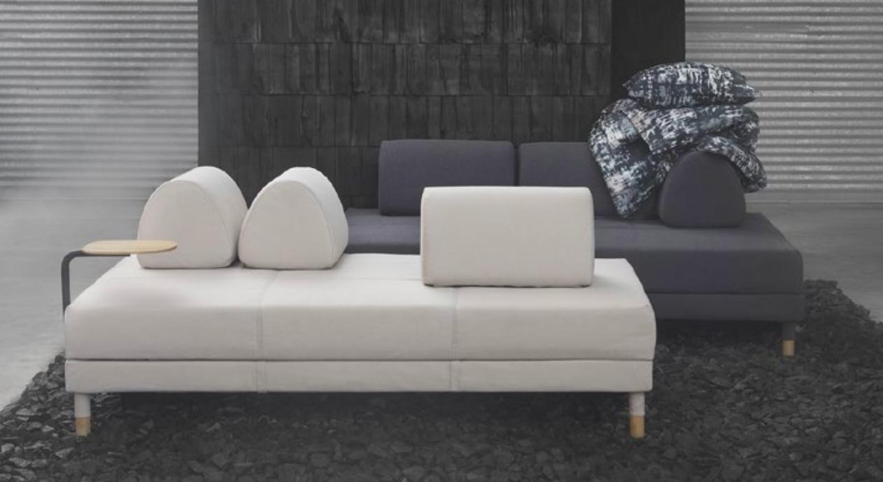 Flottebo Le Canape Lit Transformable De Chez Ikea Idees Deco