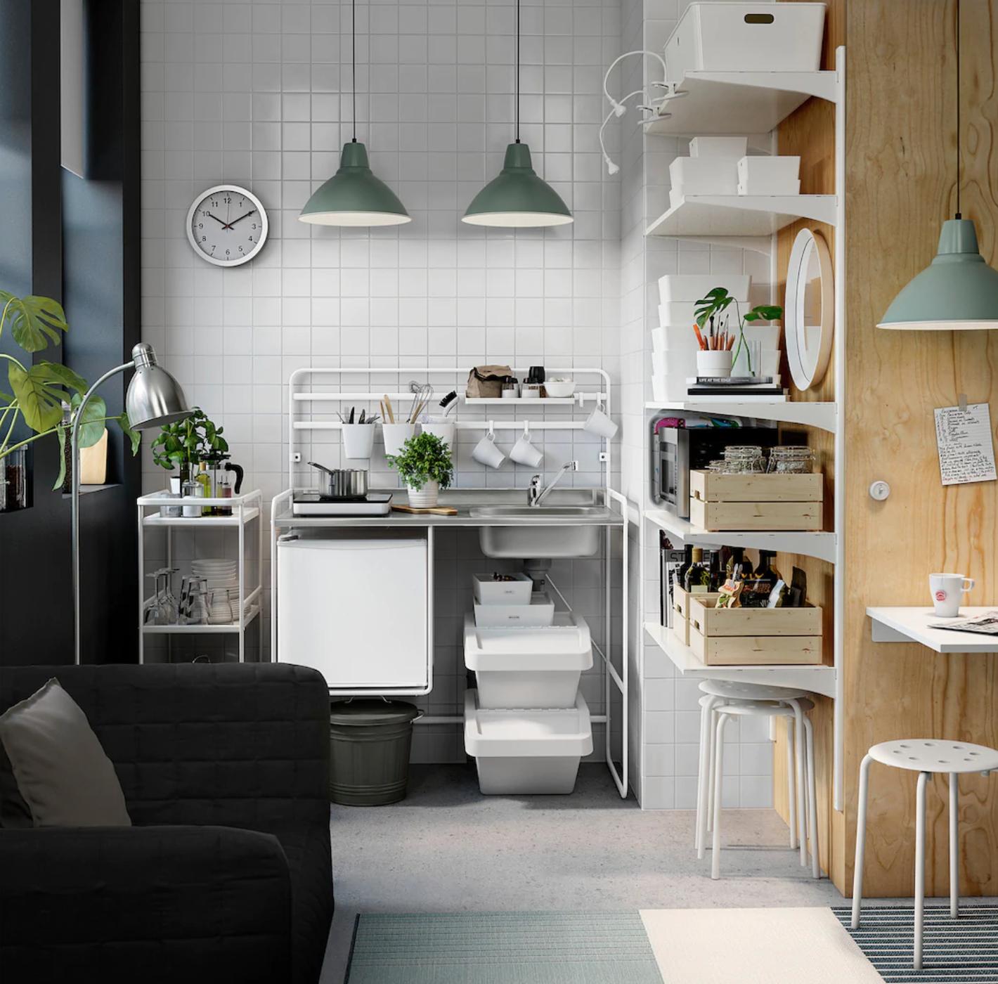 La Micro Cuisine D Ikea Sunnersta Idees Deco